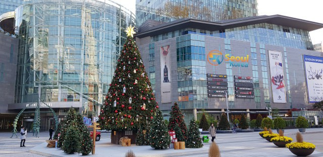 Courtyard Seoul Times Square Street View