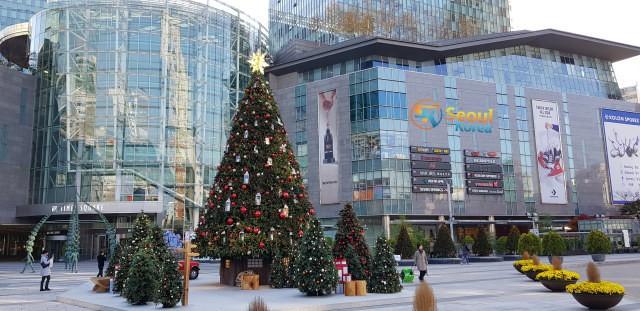 Courtyard Seoul Times Square Sokak-Görünümü