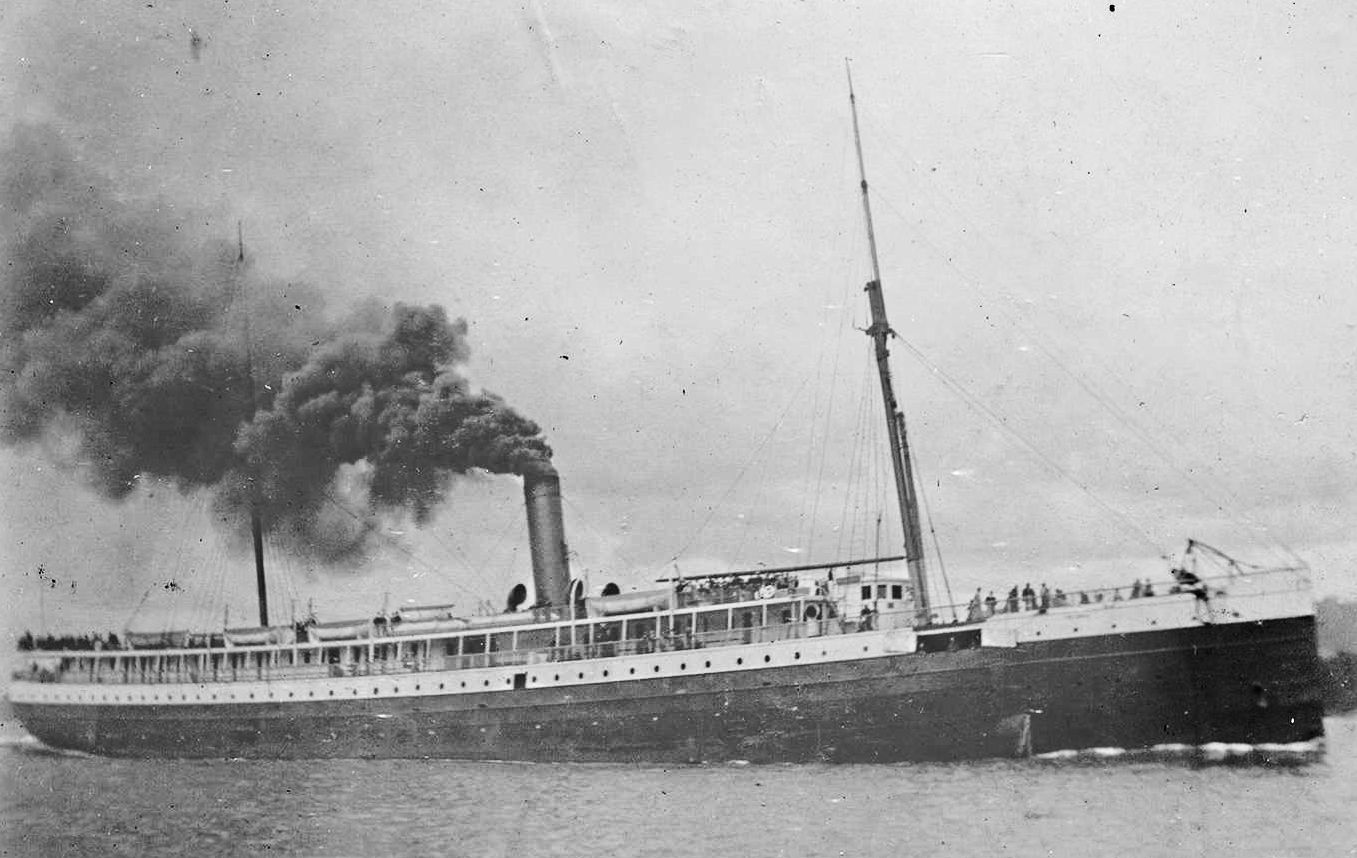 The Oregon Railroad and Navigation Company's new steamship, the Columbia, was the first commercial application for Edison's incandescent light bulb in 1880.