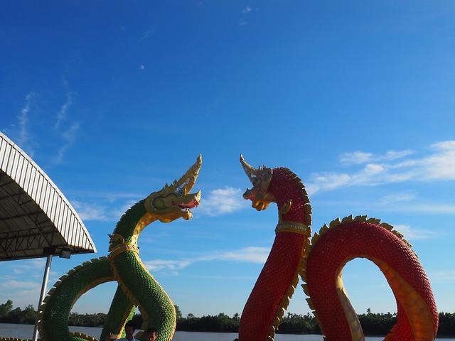 P1020537 Wat Saman Rattanaram(ワット・サマーン・ラッタナーラーム) ピンクガネーシャ バンコク Bangkok ひめごと