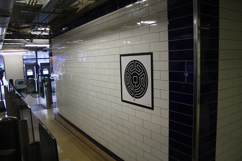 London Underground Labyrinth 46 Wembley Central