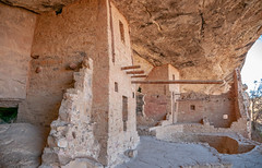 Balcony House & Kiva, C.E. 1190 to 1300, Mesa Verde National Park, Colorado