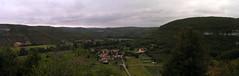 20080914 36798 1015 Jakobus Weite Hügel Wald Felsen Häuser_P01a - Photo of Espagnac-Sainte-Eulalie