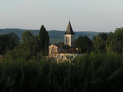 20080917 38502 1018 Jakobus Feld Wald Hügel Kirche - Photo of Sainte-Alauzie