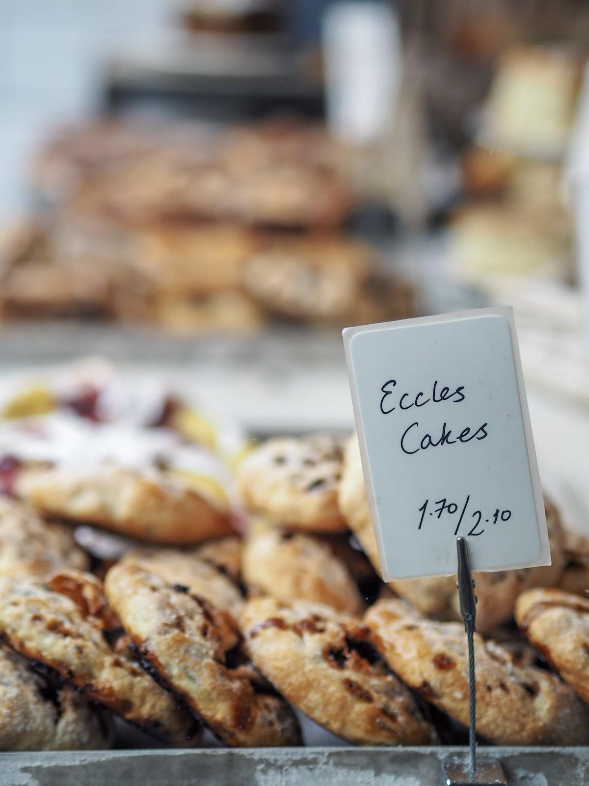 Eccles cakes bakery bibury