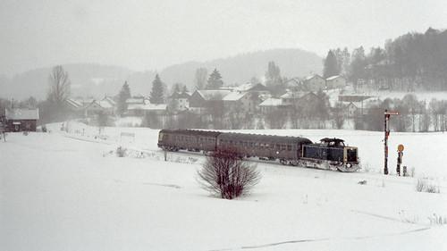 DB 211 038 Gotteszell 21.02.1993