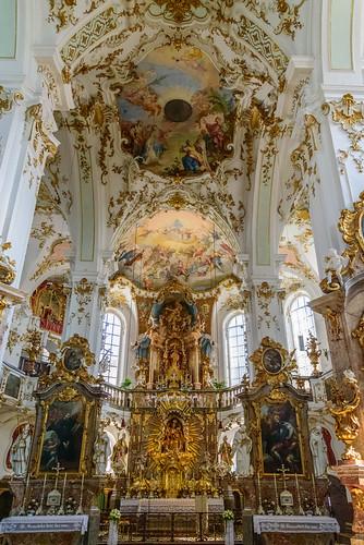 Wallfahrtskirche Andechs. Andechs Monastery Church