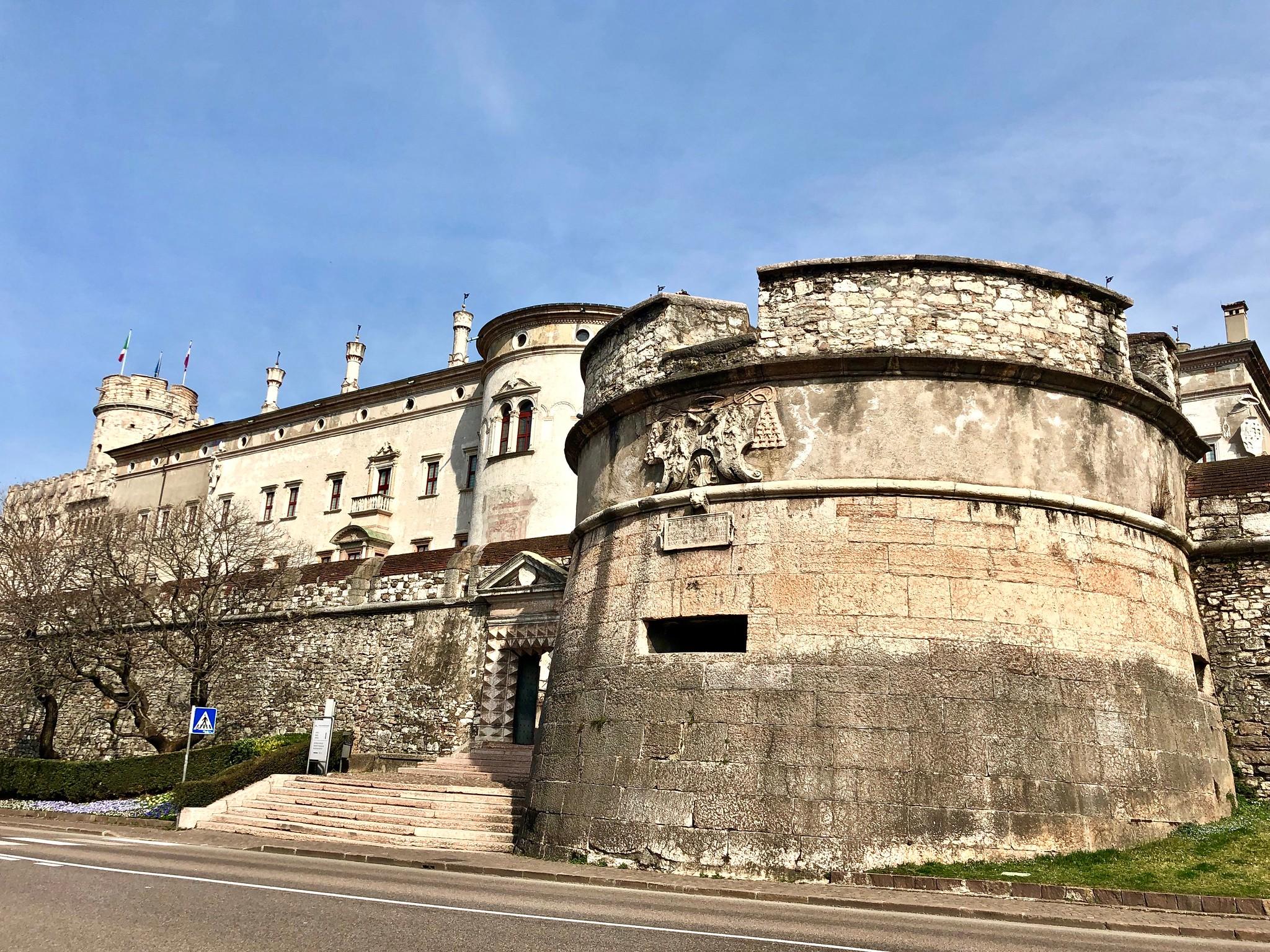 Itinerario di Trento - Castello del Buonconsiglio esterno