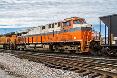 NS 8105 | GE ES44AC | BNSF Thayer South Subdivision