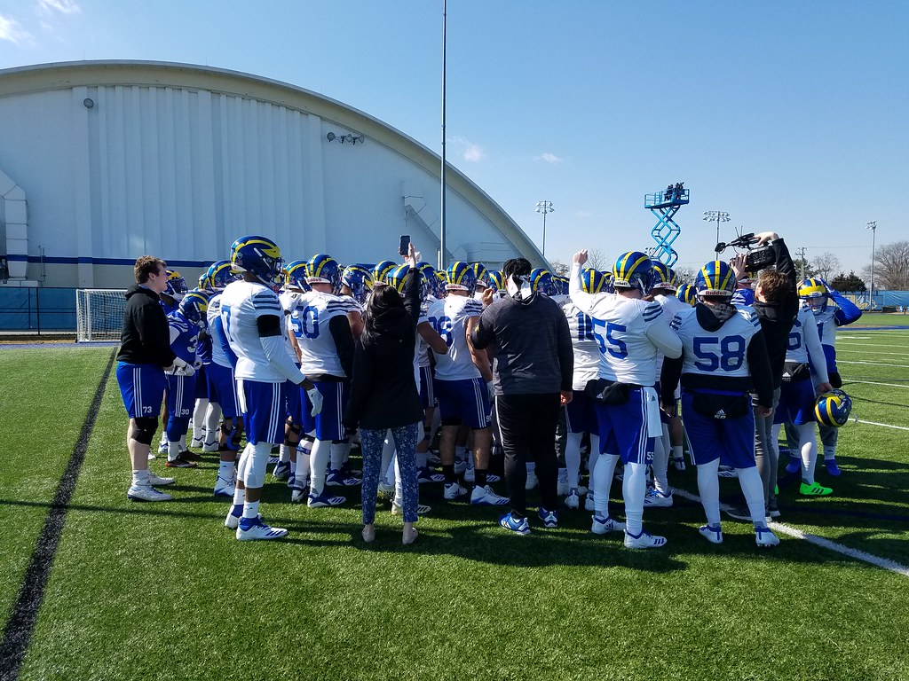 Delaware football kicks off spring training after bounce back season