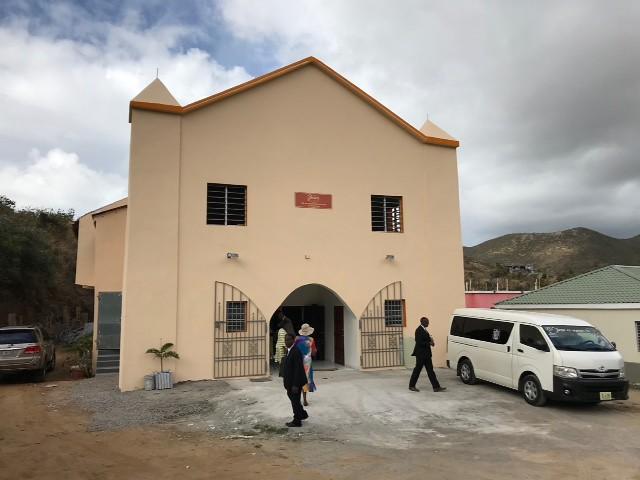 Bishop Hill St Maarten dedication