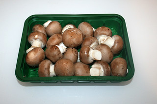 03 - Zutat Champignons / Ingredient mushrooms