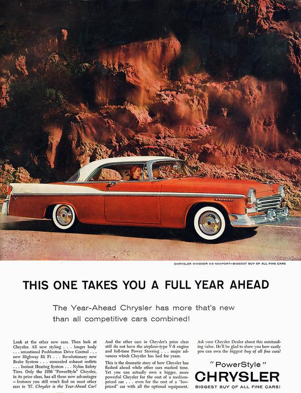 1956 Chrysler Windsor V-8 Newport