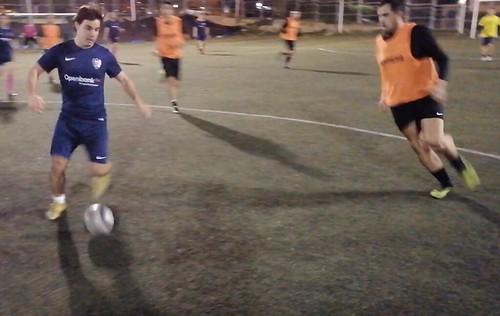 Gonzalo Sáenz se marcha en velocidad