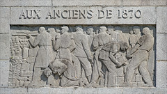 Bas-relief de Paul Landowski (Monument aux Morts de Saint-Quentin, France)