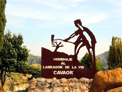 <Labrador de la vid> Canilla de Aceituno (Málaga)
