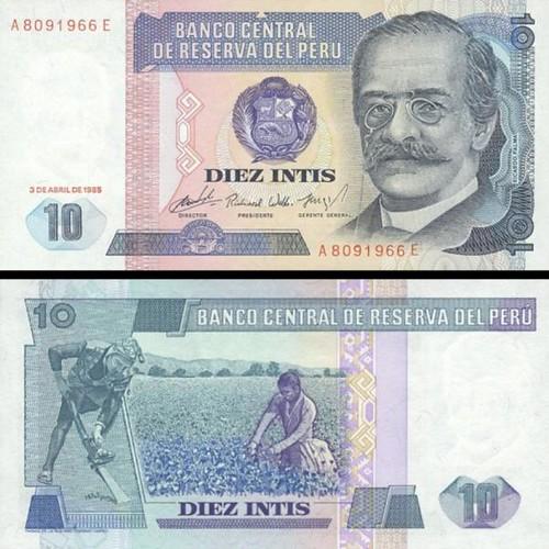 10 Intis Peru 1985-6, P128