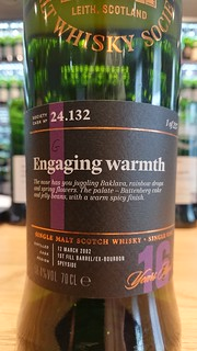 SMWS 24.132 - Engaging warmth