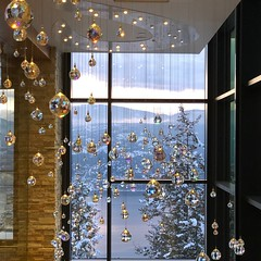 Crystals at Swarovski's Sparkling Hill Resort