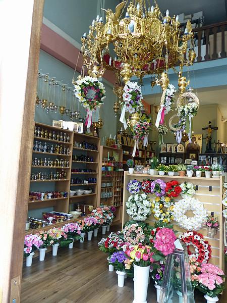 boutique religieuse au Pirée