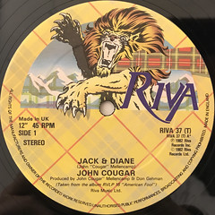 JOHN COUGER:JACK AND DIANE(LABEL SIDE-A)