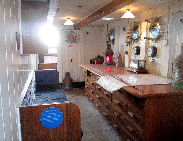 Chart Room, RRS Discovery, Dundee