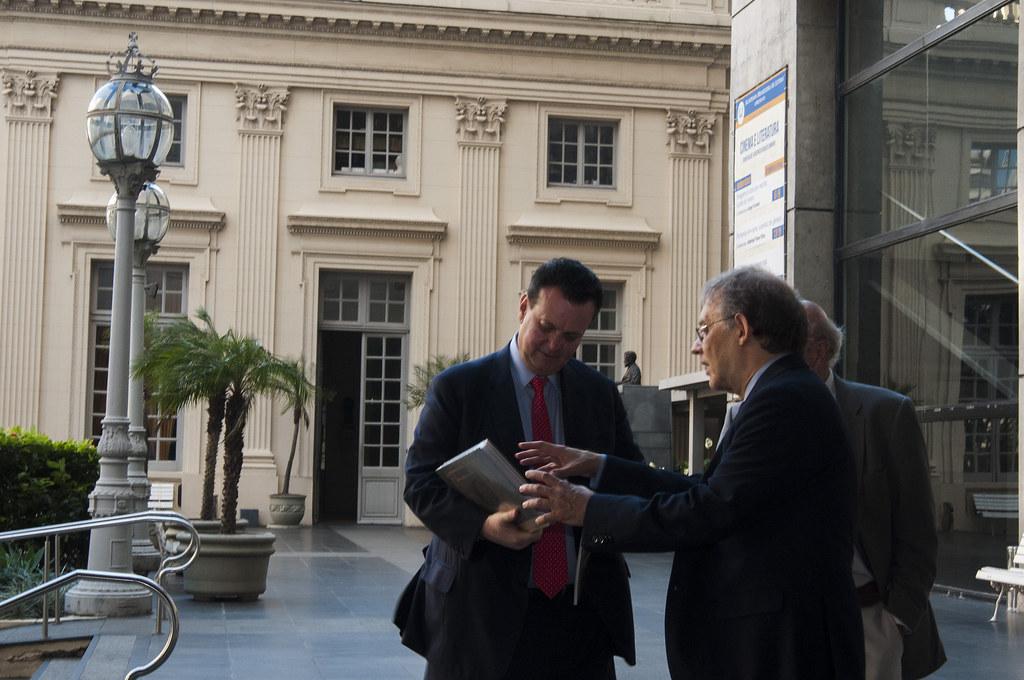 Kassab visita a Academia Brasileira de Letras em 24 de setembro de 2018. 24/09/2018. Rio de Janeiro-RJ. Fotos: ABL/Divulgação.