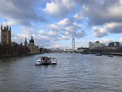River Thames from Vauxhall Bridge