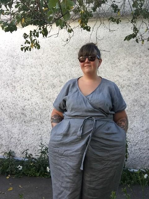 Zadie Jumpsuit Linen 1