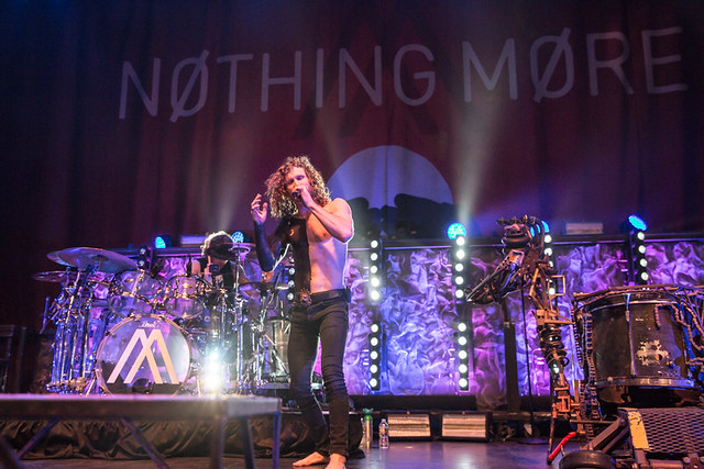 Nothing More @ The Fillmore, Silver Spring MD, 03/13/2019