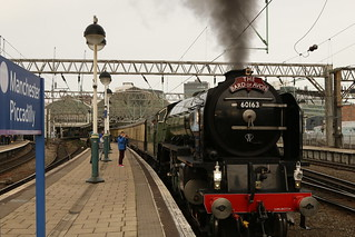 Leaving On A Steam Train
