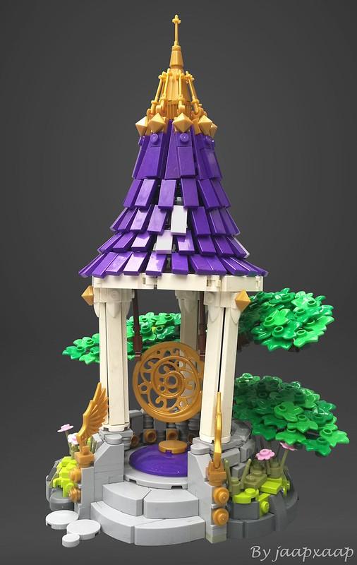 Lĭngdăo Gong - Tempio LEGO