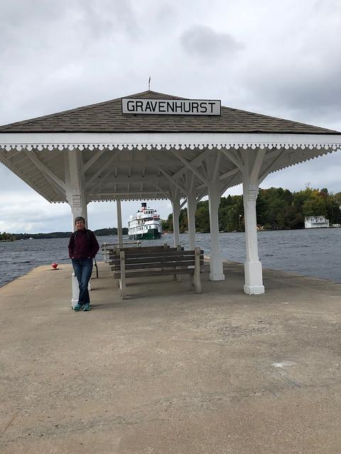 Gravenhurst - Linda at the pier