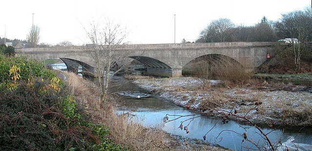 Newer Bridge Over River Ythan at Ellon