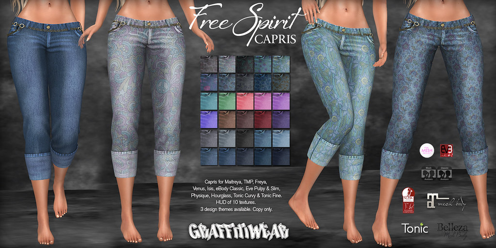Free Spirit Capris Ad