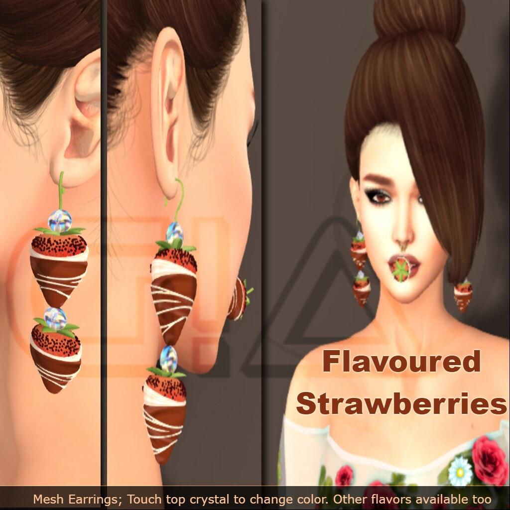 Flavoured Strawberries