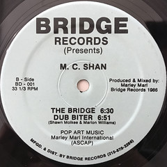 M.C. SHAN:BEAT BITER(LABEL SIDE-B)