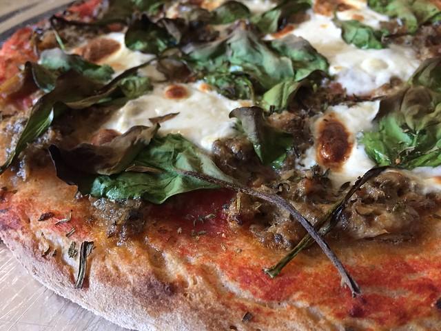 Sardine Mayo Pizza