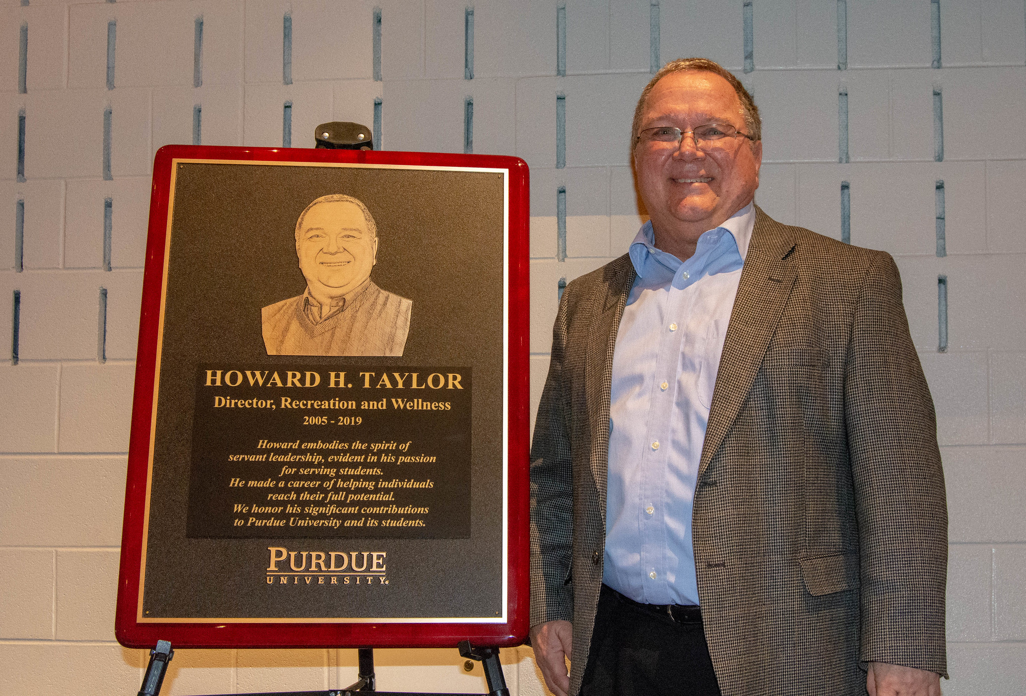 Purdue Recreation & Wellness: Howard Taylor's Retirement Party