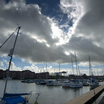 Clouds over Preston Marina