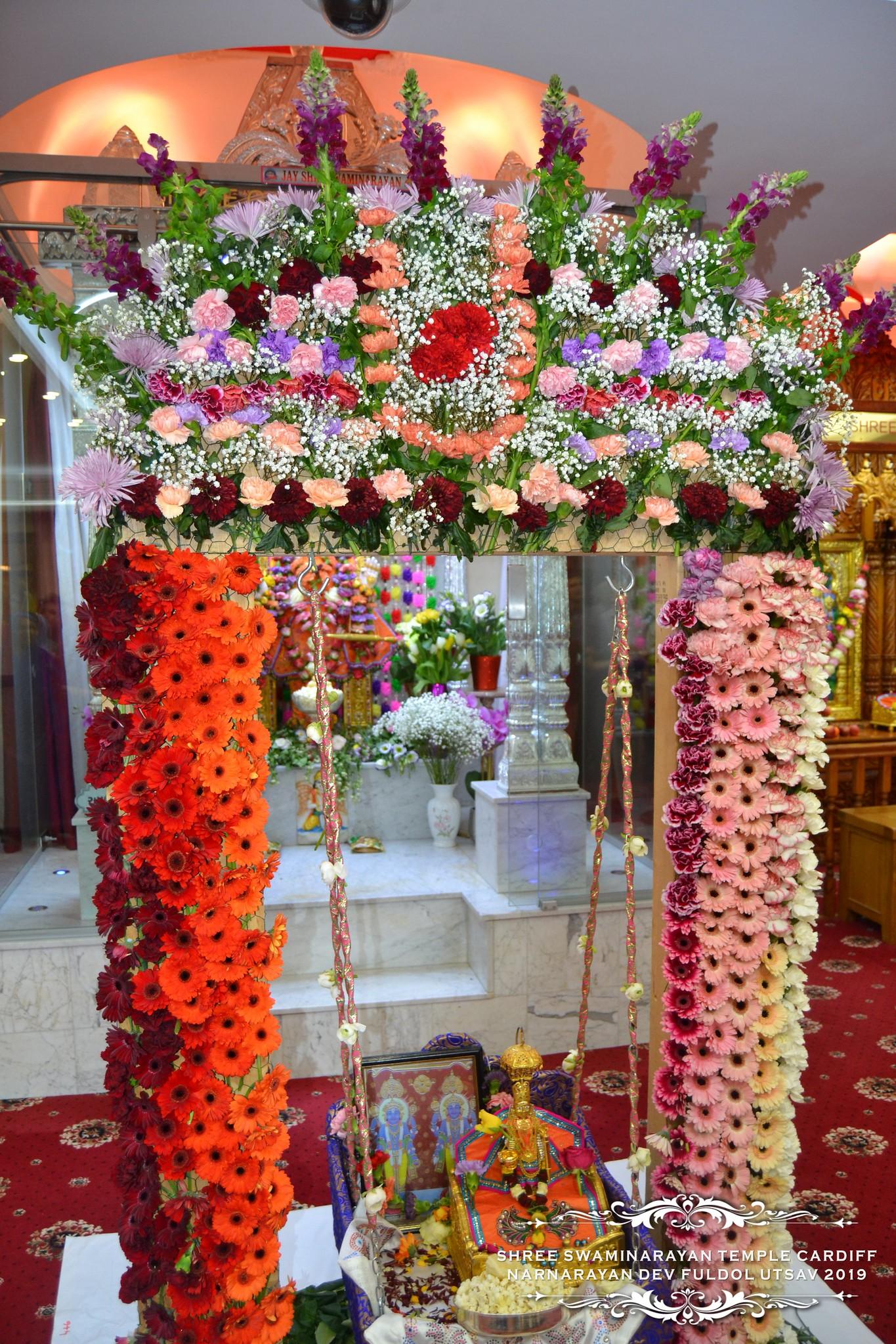 NarNarayan Dev Jayanti - Fuldol Utsav