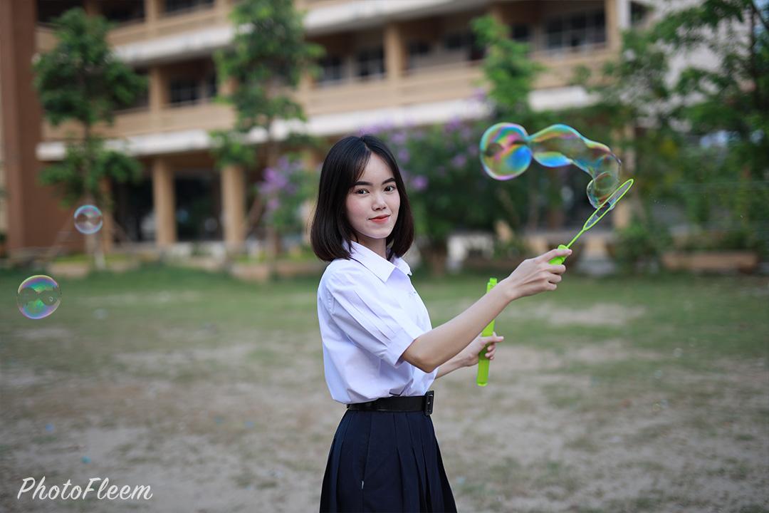 ภาพถ่ายนักเรียน Canon EOS R เลนส์ Sigma 50mm f1.4 Art