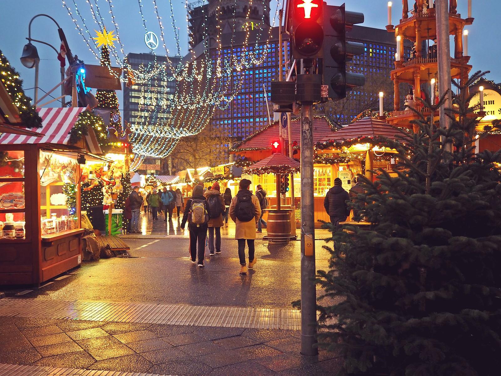 Breitscheidplatzin joulumarkkinat berliini