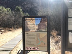 Santa Elena Canyon Trail sign