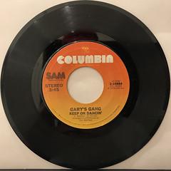 GARY'S GANG:KEEP ON DANCIN'(RECORD SIDE-A)