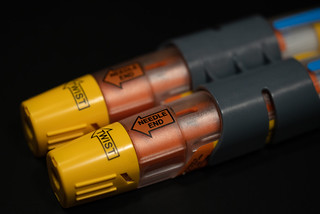 EpiPen, Teva Generic, epinephrine auto-injector | by Tony Webster