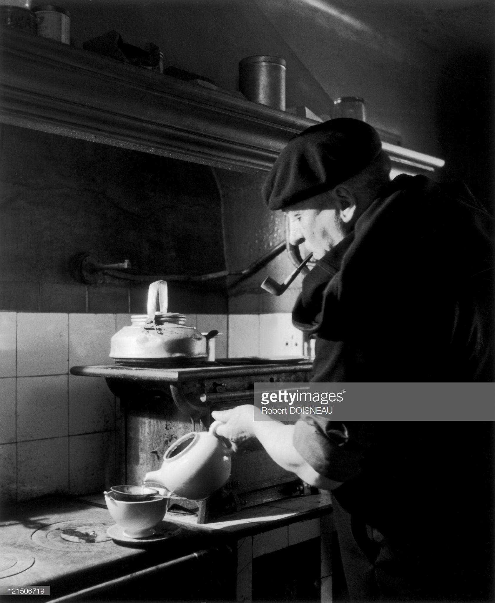 1945. Чай в Экс-ан-Провансе