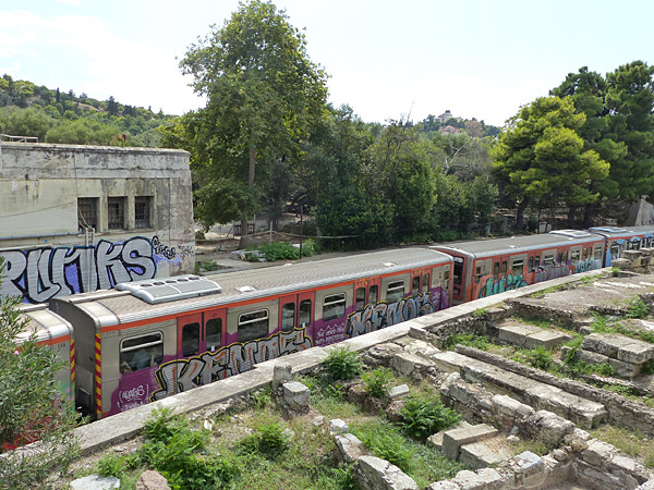 le métro en ville