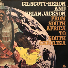 GIL SCOTT-HERON AND BRIAN JACKSON:FROM SOUTH AFRICA TO SOUTH CAROLINA(JACKET A)