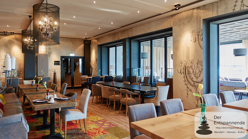 Frühstücksraum im Nägler's Fine Lounge Hotel